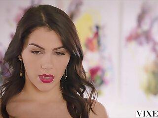 VIXEN Hot Valentina Nappi seduces their way married boss